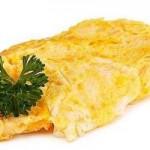 omlet-sa-sirom